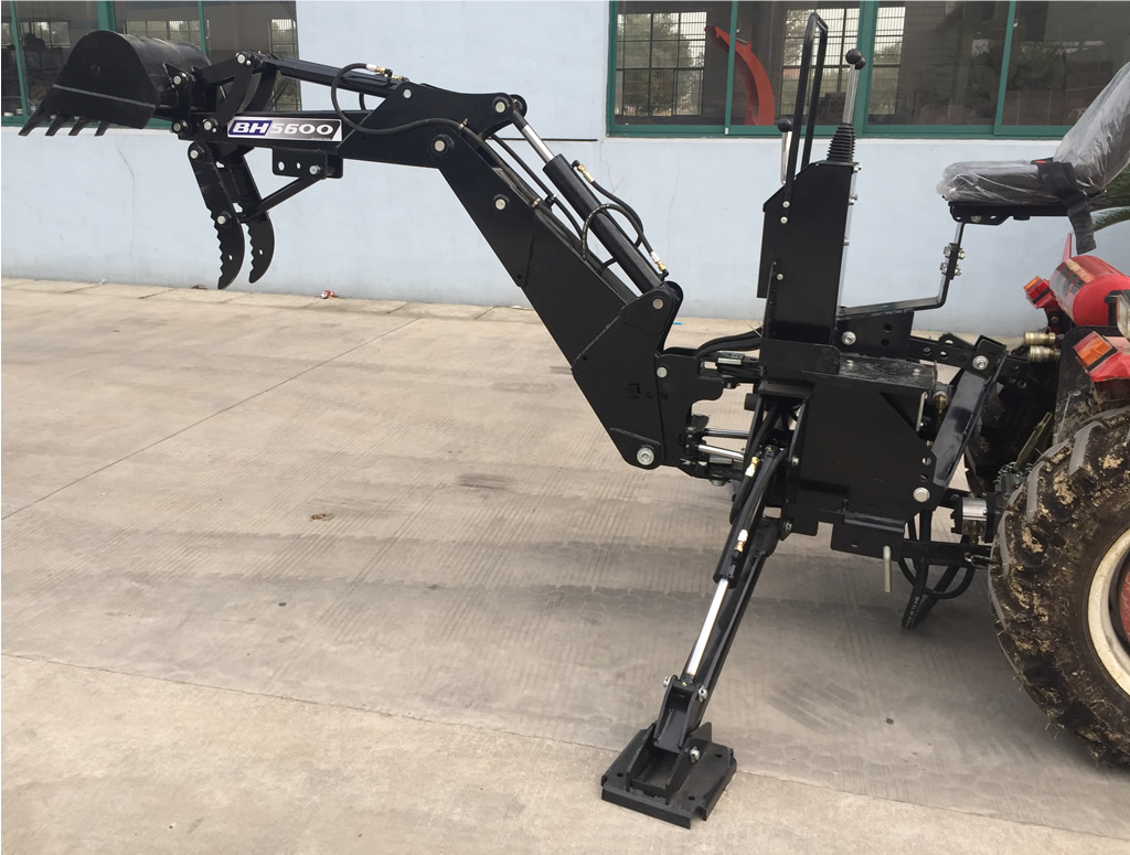 3 Point Hitch Backhoe Attachments : New bh pto point backhoe tractor excavator